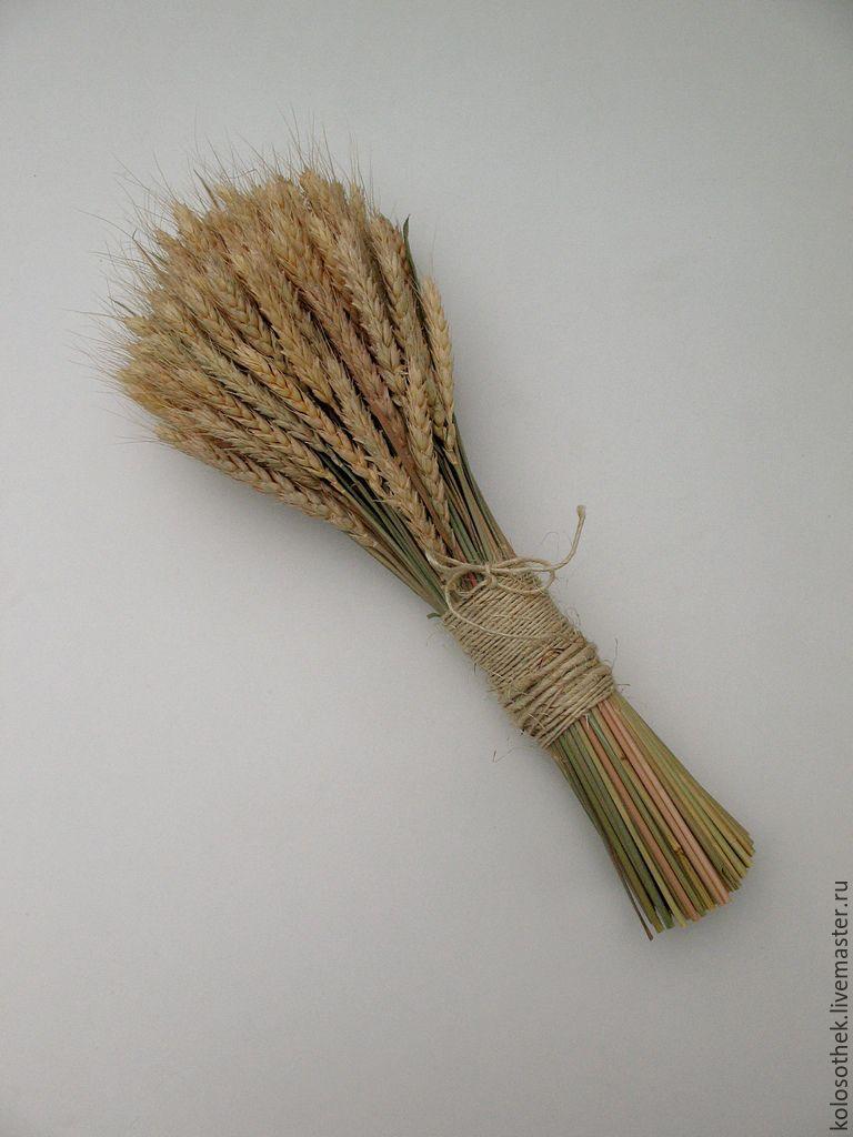 Букет из колосьев пшеницы своими руками 819