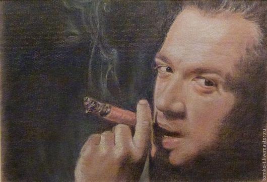 Портрет Владимира Машкова, пастель