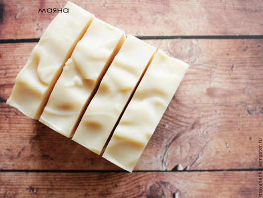 Мыло ручной работы. Ярмарка Мастеров - ручная работа. Купить Деревенское Натуральное ЭКО мыло на ряженке. Handmade. Бежевый
