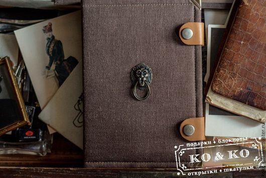 Блокноты ручной работы. Ярмарка Мастеров - ручная работа. Купить Блокнот ручной работы (формат А5). Handmade. Коричневый