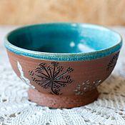 Посуда ручной работы. Ярмарка Мастеров - ручная работа Миска керамика Пряные травы. Handmade.