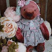 Куклы и игрушки ручной работы. Ярмарка Мастеров - ручная работа Рози - коллекционный плюшевый медведь. Handmade.