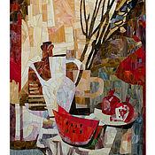Для дома и интерьера ручной работы. Ярмарка Мастеров - ручная работа Мозаика из стекла. Handmade.