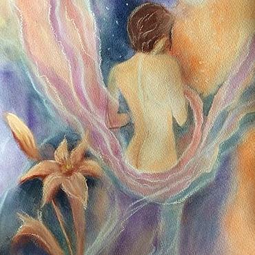 Картины и панно ручной работы. Ярмарка Мастеров - ручная работа Картина Женщина-Богиня. Handmade.