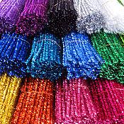 Материалы для творчества ручной работы. Ярмарка Мастеров - ручная работа Проволока шенил металлизированная 11 цветов. Handmade.