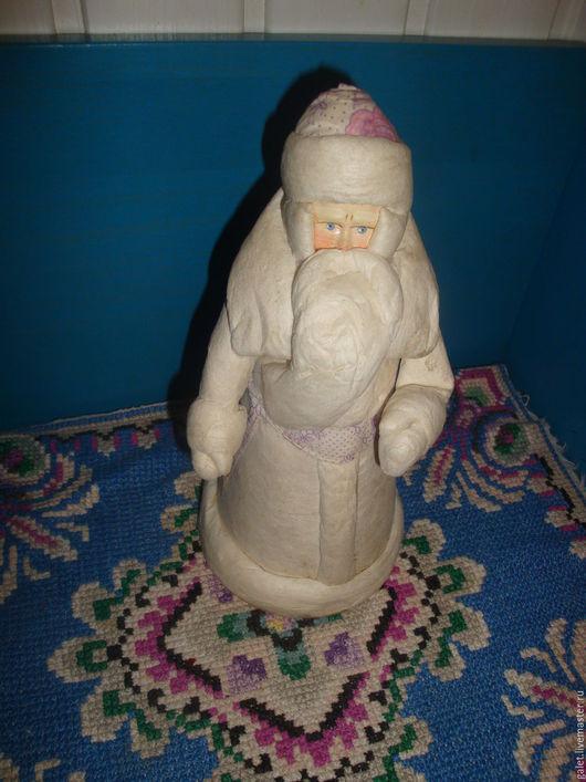 Винтажные куклы и игрушки. Ярмарка Мастеров - ручная работа. Купить Дед Мороз из ваты, винтаж. Handmade. Дед мороз из ваты