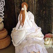 Куклы и игрушки ручной работы. Ярмарка Мастеров - ручная работа Кукла Тильда Элимма. Handmade.