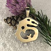 Фен-шуй и эзотерика handmade. Livemaster - original item Kulaika Snake talisman,amulets talismans, amulets, metal,bronze. Handmade.