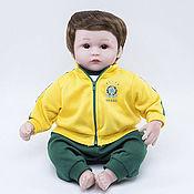 Куклы Reborn ручной работы. Ярмарка Мастеров - ручная работа Кукла Reborn, футболист Бразилия (C). Handmade.