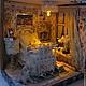 Кукольный дом ручной работы. Ярмарка Мастеров - ручная работа. Купить Вечер в Париже. Handmade. Миниатюра, ноты, Композитный материал
