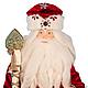 Коллекционные куклы ручной работы. Заказать Дед Мороз со Снегурочкой (продаются в паре). Алла Любимова. Ярмарка Мастеров. парча