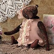 Куклы и игрушки ручной работы. Ярмарка Мастеров - ручная работа Плюшевая мишка Луиза. Handmade.
