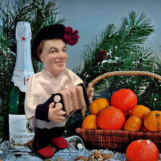 Портретные куклы ручной работы. Ярмарка Мастеров - ручная работа. Купить Портретная кукла на заказ по фото - Веселый парень. Handmade.