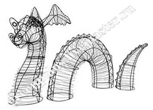 Экстерьер и дача ручной работы. Ярмарка Мастеров - ручная работа. Купить Каркасы для топиарий. Handmade. Каркас, скульптура