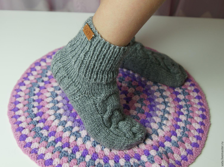Носки схемы вязки
