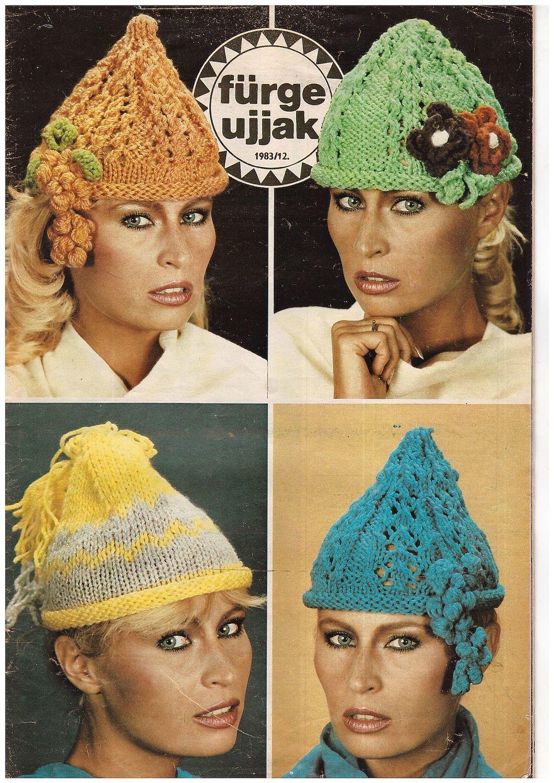 """""""Fruge ujjak"""" (Шустрые пальчики""""),1983 г. Венгрия, Схемы для вязания, Москва,  Фото №1"""