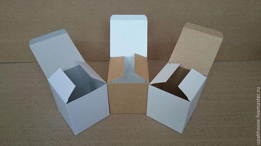 Упаковка ручной работы. Ярмарка Мастеров - ручная работа. Купить коробка из картона. Handmade. Картонная коробка, бурый, крафтоборот