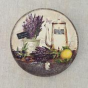 Посуда ручной работы. Ярмарка Мастеров - ручная работа тарелка 5. Handmade.
