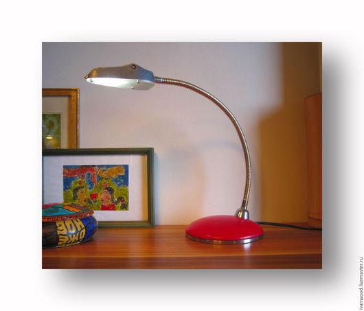 """Освещение ручной работы. Ярмарка Мастеров - ручная работа. Купить Лампа """" Loft-Ness"""". Handmade. Ярко-красный, алюминий"""