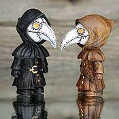 Для дома и интерьера handmade. Livemaster - original item Plague doctor.Thumbnail image.. Handmade.