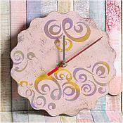 Для дома и интерьера ручной работы. Ярмарка Мастеров - ручная работа Настенные деревянные часы. Handmade.