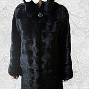Одежда ручной работы. Ярмарка Мастеров - ручная работа Норковая шуба трансформер.. Handmade.