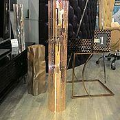 """Для дома и интерьера ручной работы. Ярмарка Мастеров - ручная работа Ваза из зеркальной мозаики """"розовое золото"""". Handmade."""