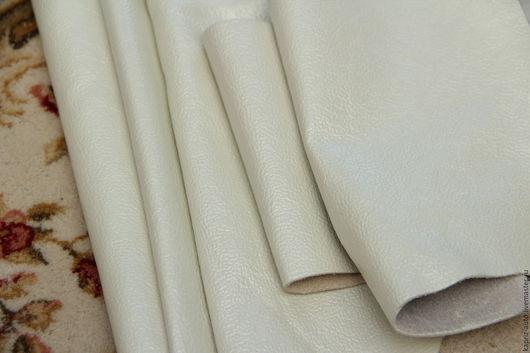 Шитье ручной работы. Ярмарка Мастеров - ручная работа. Купить №2.61 Белый Перламутр 1.8кг.1мм.Натуральная кожа. Handmade.
