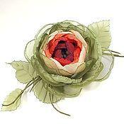Украшения handmade. Livemaster - original item The Great Mystery Of Forest Fairies. brooch - handmade flower fabric.. Handmade.