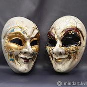 Повязки ручной работы. Ярмарка Мастеров - ручная работа Венецианская маска, маска для карнавала. Handmade.
