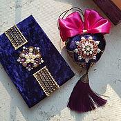 Сувениры и подарки handmade. Livemaster - original item Christmas tree toy-a velvet heart in a beautiful box.. Handmade.