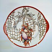Посуда handmade. Livemaster - original item Painted porcelain.