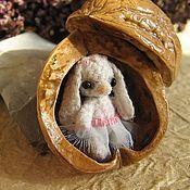 Куклы и игрушки ручной работы. Ярмарка Мастеров - ручная работа Зайка Дюймовочка. Handmade.