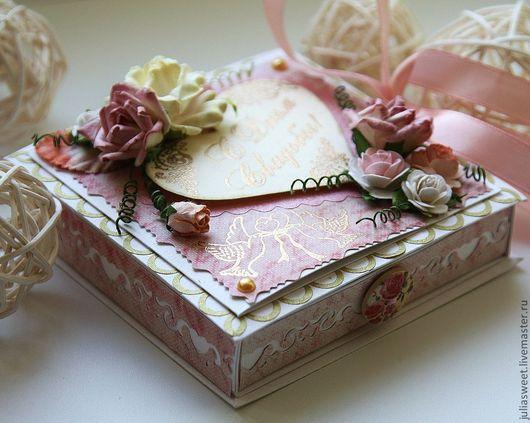"""Конверты для денег ручной работы. Ярмарка Мастеров - ручная работа. Купить Коробочка для денег """"Розовый сад NEW"""". Handmade. Коробочка"""
