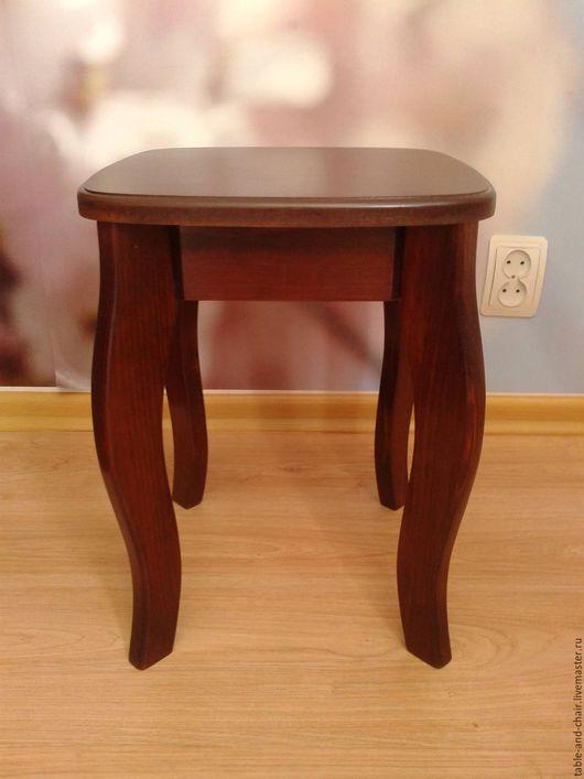 Мебель ручной работы. Ярмарка Мастеров - ручная работа. Купить Табурет. Handmade. Темный орех