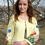 """Одежда ручной работы. Ярмарка Мастеров - ручная работа Костюм """"Полевые цветы"""". Handmade."""
