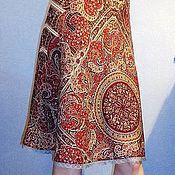 Одежда handmade. Livemaster - original item Skirt pavlogoradsky shawls. Handmade.