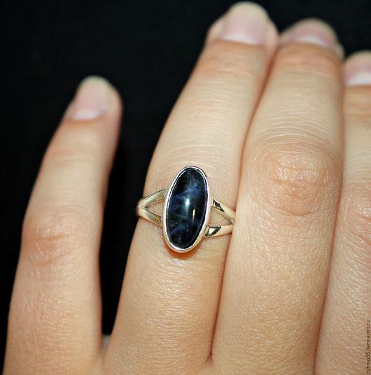 Кольца ручной работы. Ярмарка Мастеров - ручная работа. Купить Кольцо Содалит. Handmade. Натуральные камни, кольцо ручной работы