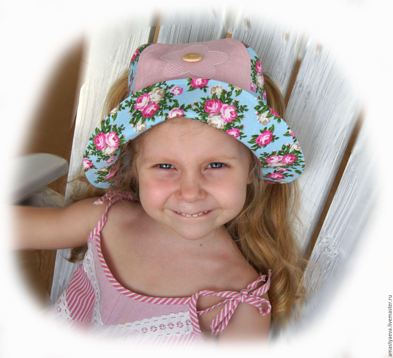 Панама для девочки – купить в интернет-магазине на Ярмарке Мастеров ... e382757632129
