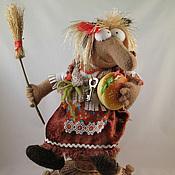 """Куклы и игрушки ручной работы. Ярмарка Мастеров - ручная работа Баба -Яга """" Последний кусочек"""". Handmade."""