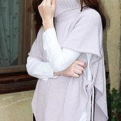 "Одежда handmade. Livemaster - original item Women`s tunic  ""Lilac haze"". Handmade."