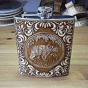 Сувениры и подарки handmade. Livemaster - original item Flask
