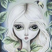 Картины и панно ручной работы. Ярмарка Мастеров - ручная работа Puella Natura. Handmade.