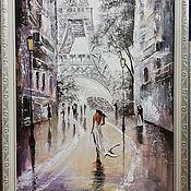 Картины ручной работы. Ярмарка Мастеров - ручная работа Картина масло холст на подрамнике, оформлено в рамку 80х60см. Handmade.