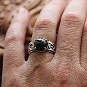 """Винтаж ручной работы. Ярмарка Мастеров - ручная работа Винтажное кольцо """"Оберег"""", серебро 925, натуральный гиперстен. Handmade."""
