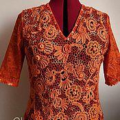Одежда ручной работы. Ярмарка Мастеров - ручная работа Оранжевое лето. Handmade.
