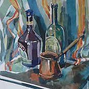 Картины и панно ручной работы. Ярмарка Мастеров - ручная работа натюрморты акварель, гуашь. Handmade.