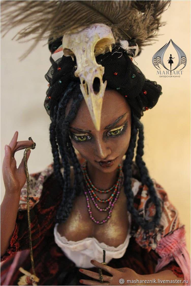Мари Лаво королева Вуду. Статичная кукла, Портретная кукла, Тюмень,  Фото №1