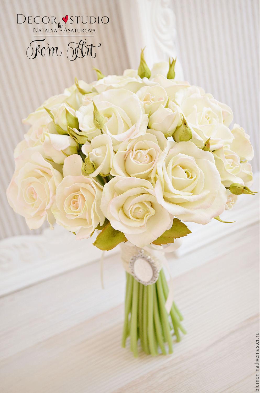 Букет невесты, свадебный букет невесты заказать 35