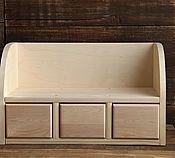 Бюро настольное с тремя ящиками